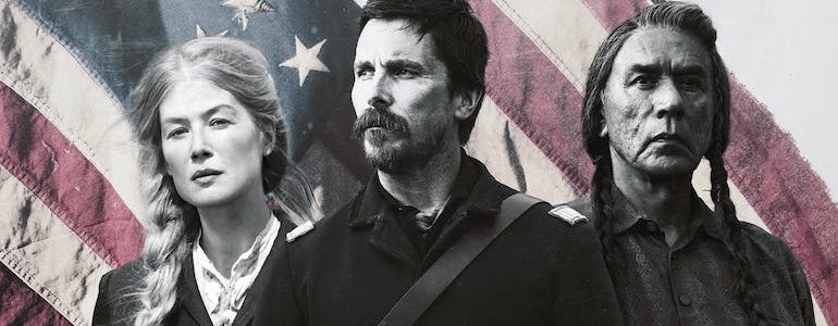 'Hostiles' Arrives on 4K, Blu-ray, & DVD April 24th