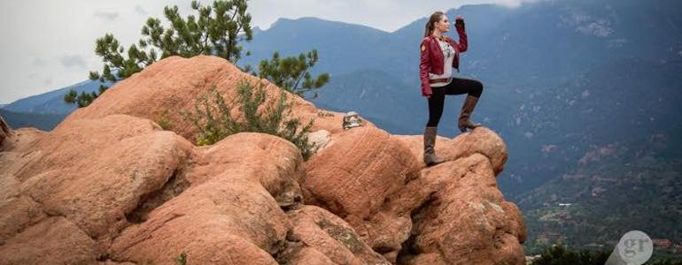 Genderbent Star Lord at Garden of the Gods
