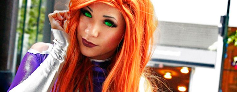 Out of this World Starfire Cosplay