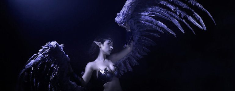 Morgana, The Fallen Angel Cosplay