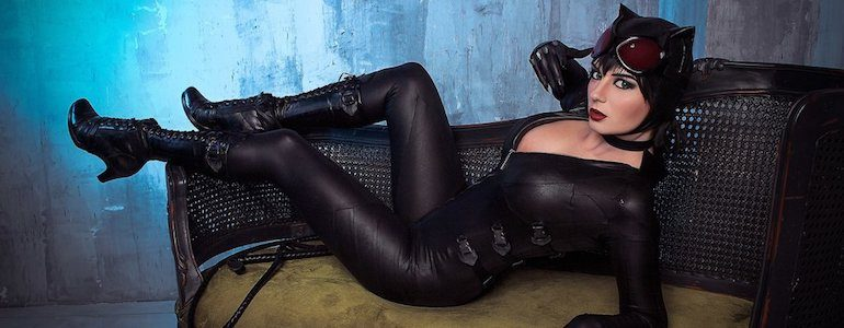 Purrrfect Catwoman Cosplay