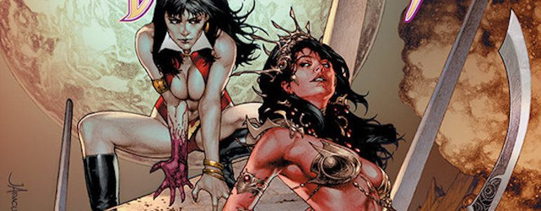 Vampirella Encounters Dejah Thoris in New Dynamite Series