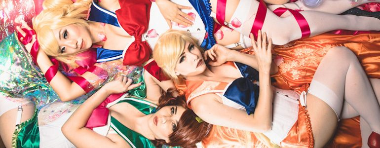 Boudoir Sailor Moon Photoshoot