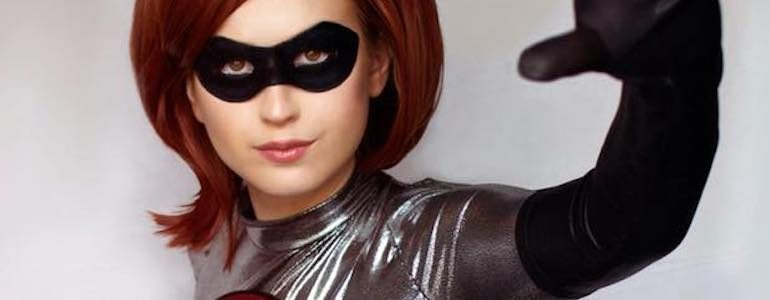 Incredible Elastigirl Cosplay