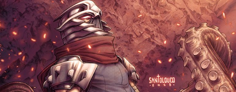 SDCC: 'Shredder in Hell' Goes Dark & Deep into TMNT Universe