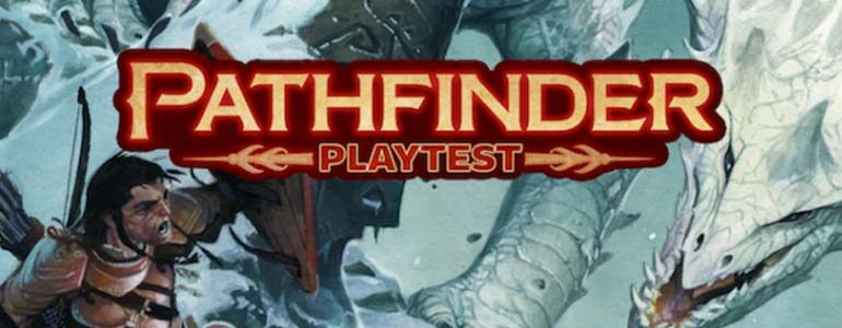 Pathfinder Playtest Begins