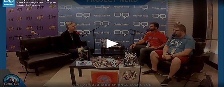 Live on Twitch: Matthew Wood Interview
