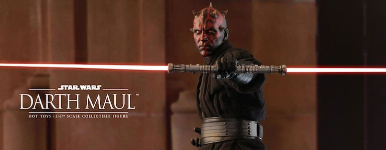 Stuff I Want: SideShow Darth Maul Sixth Scale Figure