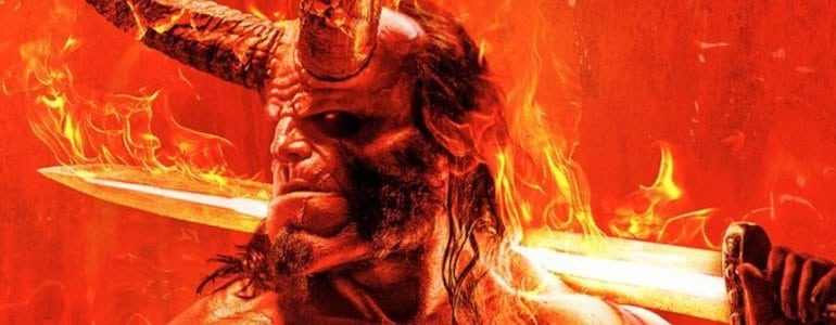 First 'Hellboy' (2019) Poster is Fiery