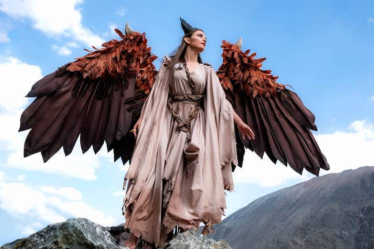 Winged Maleficent Cosplay Project Nerd