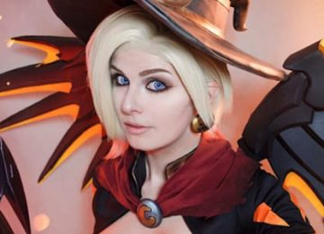Witch Mercy from Overwatch Cosplay