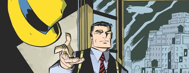 Michael Avon Oeming Leaves His Mark on 'Dick Tracy Forever'