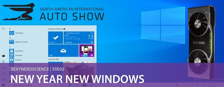 SexyNerdScience: New Year New Windows | S5E02