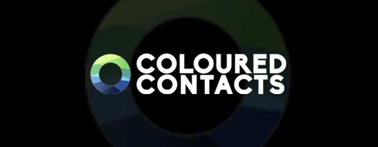 First Look: Coloured Contacts' Contact Lenses