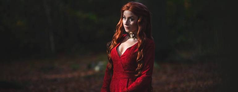 Nikita Cosplay is The Red Priestess