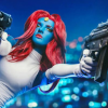 Epic Mystique Cosplay