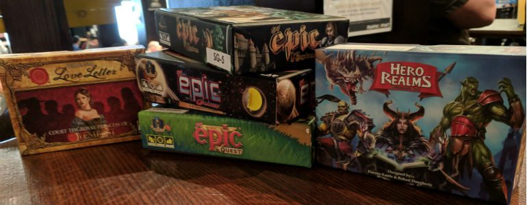 Shelf Savers! Five Games in Small Packages