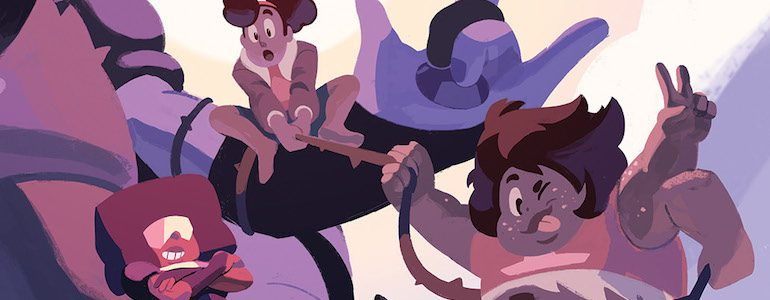 First Look at 'Steven Universe: Fusion Frenzy' #1