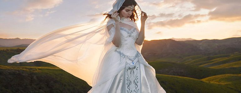 Zelda Inspired Wedding Dress Will Have You Saying 'I Do'