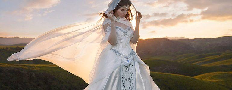 Zelda Inspired Wedding Dress Will Have You Saying 'I Do'