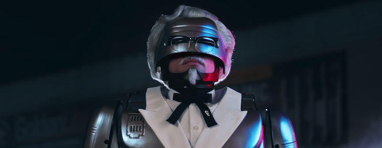 KFC's Newest Colonel is RoboCop (Seriously)