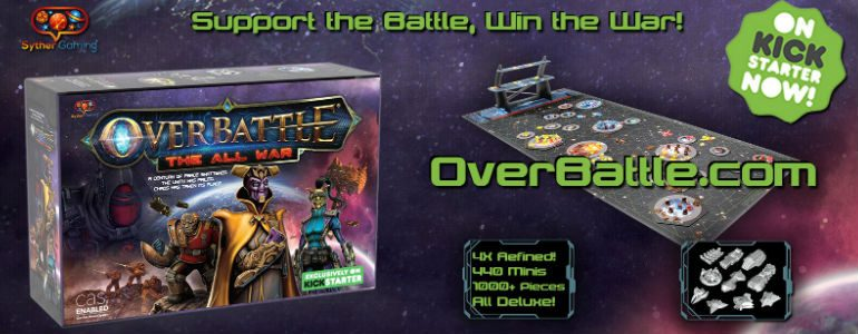 Crowdfund It! OverBattle: The All War