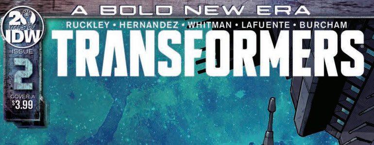 'Transformers' (Reboot) 1 & 2 Comic Review