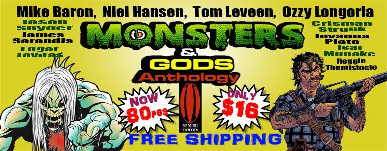Crowdfunding Spotlight: 'Gods & Monsters' Anthology Comic