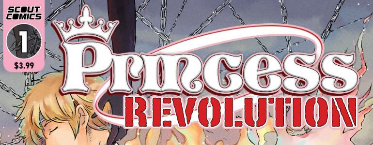 Scout Comics Introduces Princess Revolution