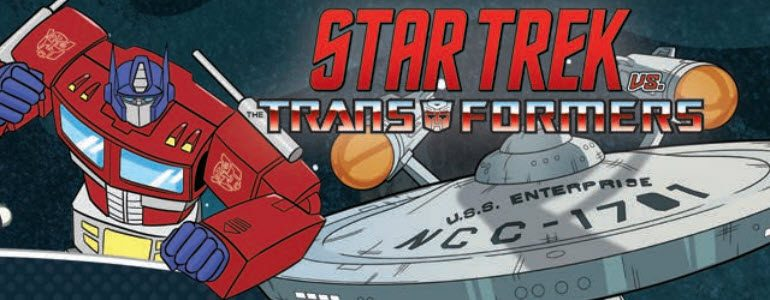 'Star Trek vs Transformers' TPB Review: A Delightfully Absurd Mashup