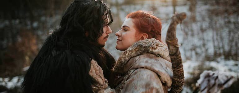 Out Of This World Jon Snow & Ygritte Cosplay