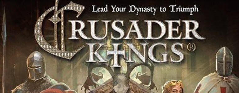 Crusader Kings: The Board Game Set for August 1st Gen Con Debut