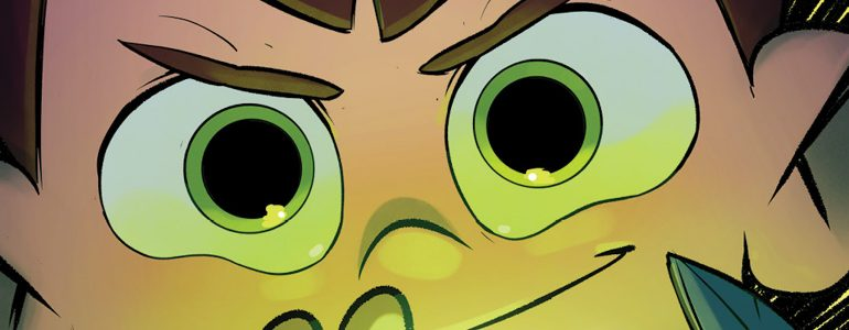 BOOM! Studios Reveals A New Look at 'Ben 10: For Science'