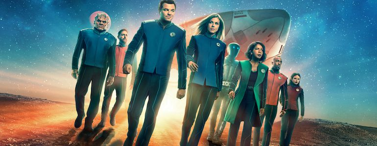 SDCC 2019: 'The Orville' Leaving Fox for Hulu