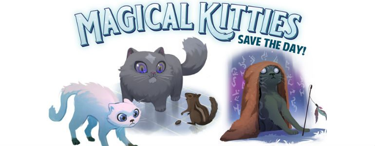 Crowdfunding Highlight: Magical Kitties Save the Day