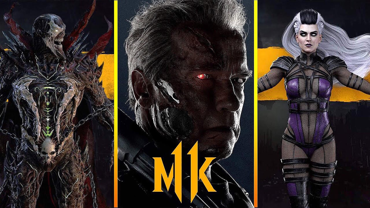 Mortal Kombat 11 Kombat Pack Trailer Welcomes T-800, Spawn