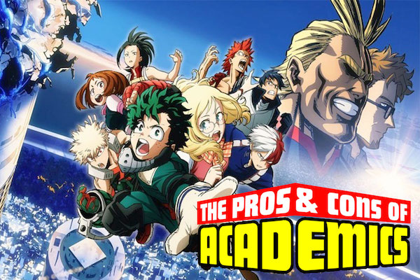 The Pros Cons Of Academics My Hero Academia Heroes Rising Review Project Nerd