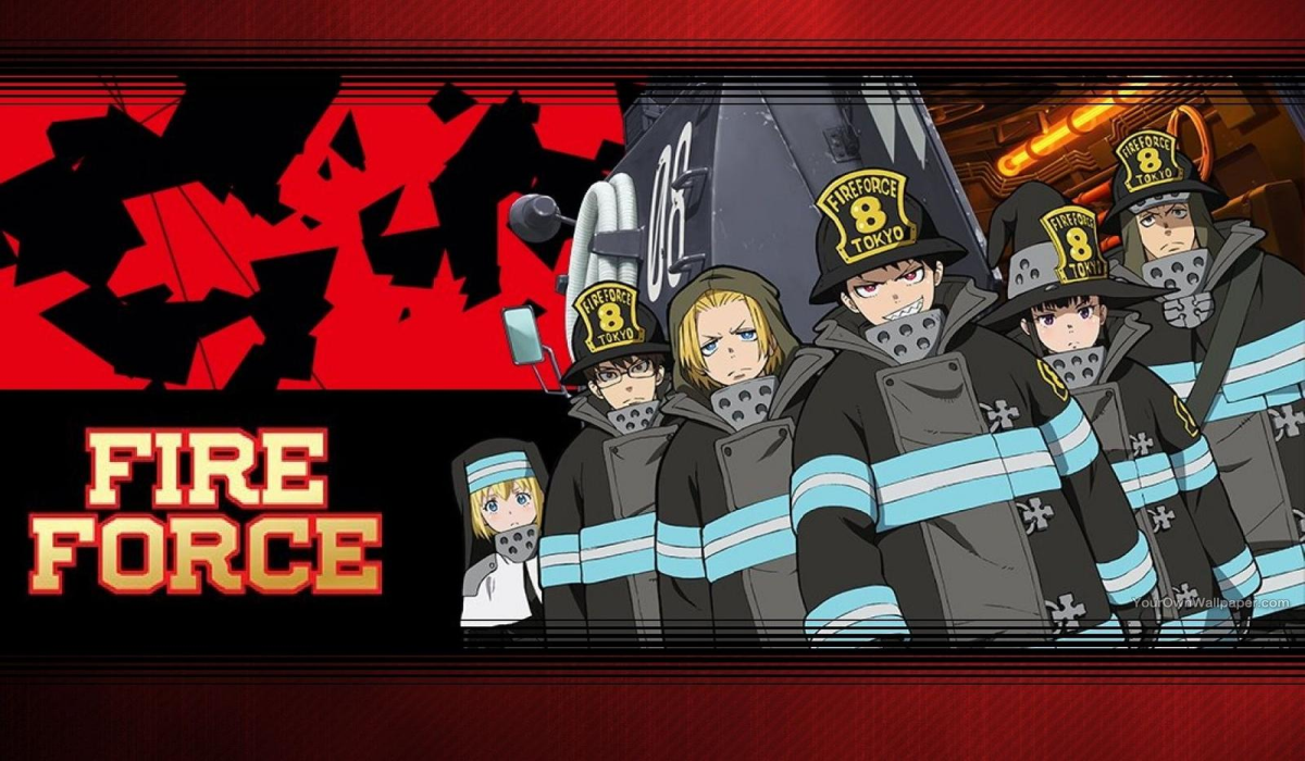 Anime Spotlight Fire Force Project Nerd
