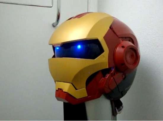 Как сделать самому шлем железного человека - Leo-stroy.ru