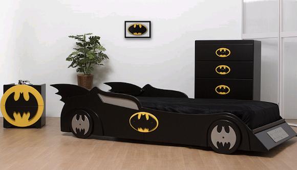 Batman Bedroom With Batman Furniture