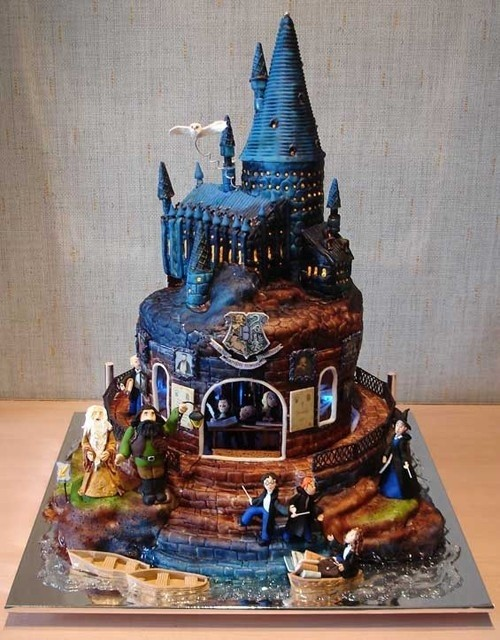 Cake Harry Potter Tumblr : Awesome  Harry Potter  Cake! - Project-Nerd