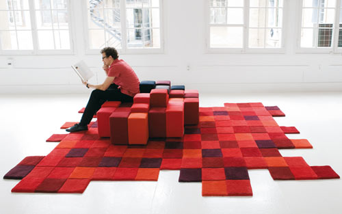 Pixelated Furniture Collection Project Nerd
