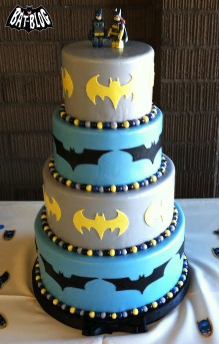 Batman Wedding Cake ProjectNerd